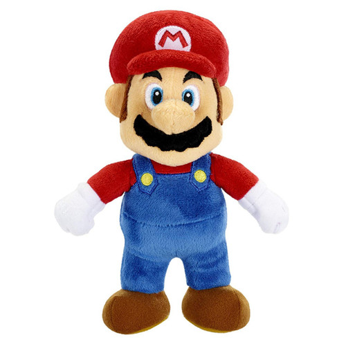 World of Nintendo Super Mario Mario 7-Inch Plush [New Super Mario Bros U]