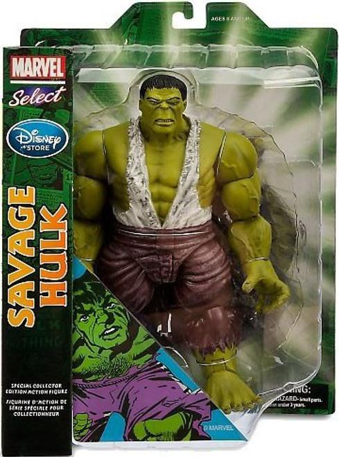Disney The Incredible Hulk Marvel Select Savage Hulk Action Figure