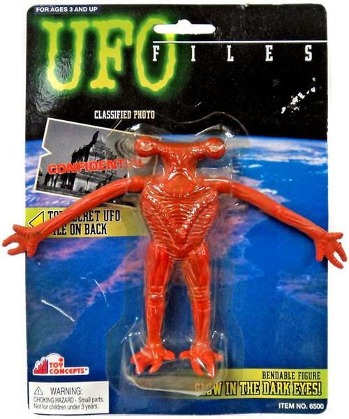 UFO Files Amphiboid Scientist Bendable Figure