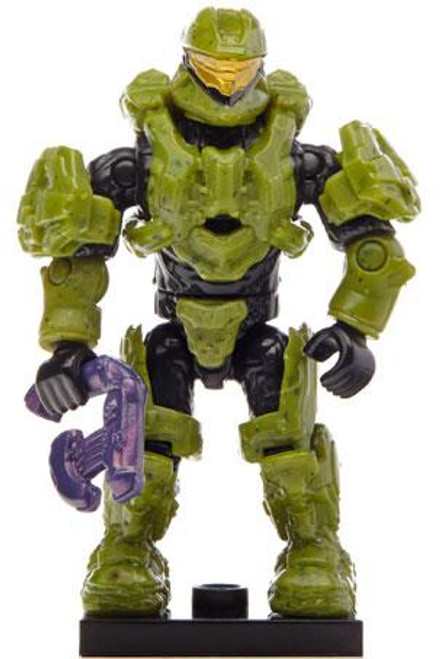 Mega Bloks Halo Mystery Pack Alpha Scout Spartan 2-Inch Minifigure [Green Loose]