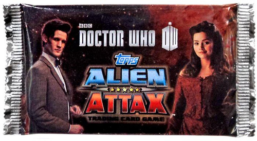 Doctor Who Topps Alien Attax Booster Pack