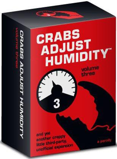 Crabs Adjust Humidity Card Game [Volume 3]