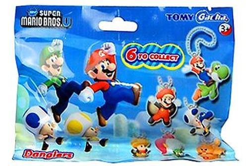 New Super Mario Bros U Danglers 1-Inch Mystery Pack