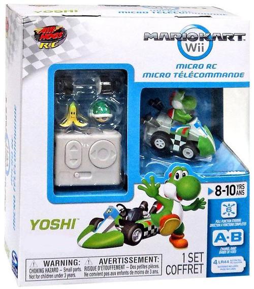 Super Mario Mario Kart Wii Micro RC Yoshi R/C Vehicle