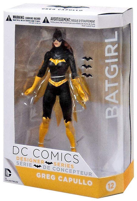 DC Batman Designer Greg Capullo Series 3 Batgirl Action Figure #12