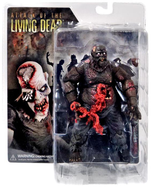 Attack of the Living Dead Afterlife Earl Action Figure [Dark Skin, Damaged Package]