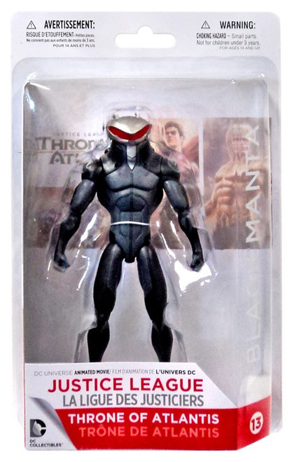 DC Justice League: Throne of Atlantis Black Manta Action Figure