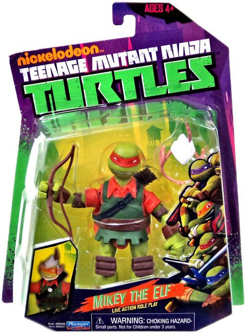 Teenage Mutant Ninja Turtles Nickelodeon Mikey the Elf Action Figure