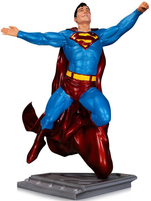 DC The Man of Steel Superman 7.75-Inch Statue [Gary Frank]