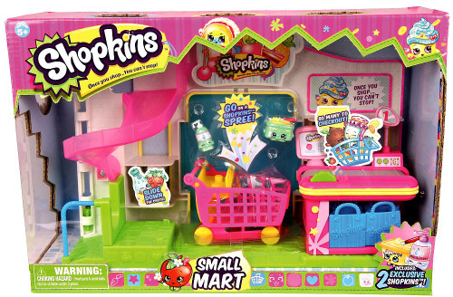 Shopkins Small Mart (Supermarket) Playset [2 Exclusive Shopkins!]