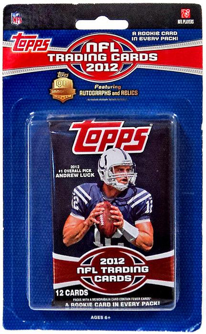 NFL Topps 2012 Football Trading Card Pack [12 Cards, 1 Rookie In Every Pack!]