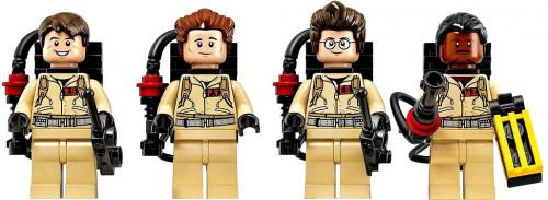 LEGO Ghostbusters CUUSOO Stanz, Venkman, Zeddemore & Spengler Set of 4 Ghostbusters Minifigures [Loose]
