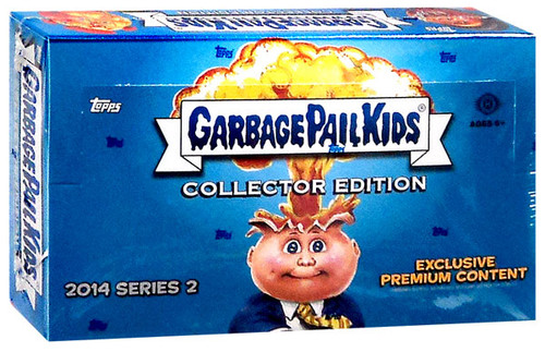 Garbage Pail Kids Topps 2014 Series 2 Trading Card COLLECTOR Edition HOBBY Box [24 Packs]