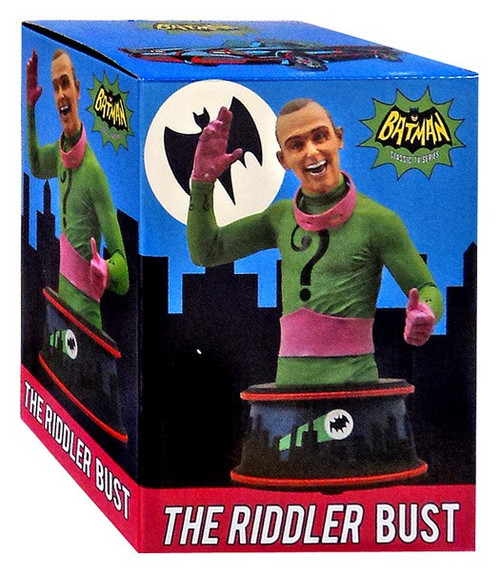 Batman 1966 TV Series The Riddler 6-Inch Bust