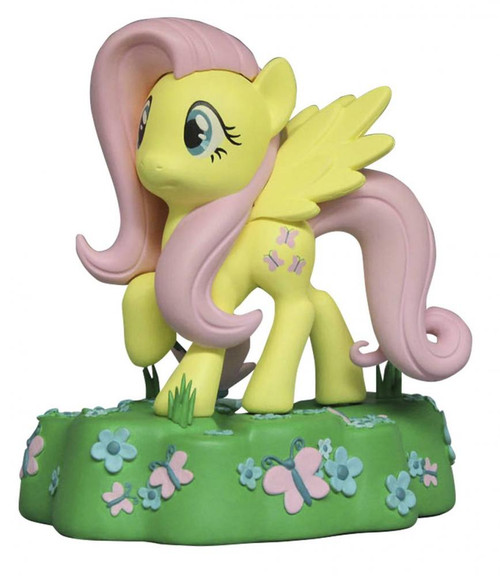 My Little Pony Friendship is Magic Fluttershy 7-Inch Vinyl Bank Statue