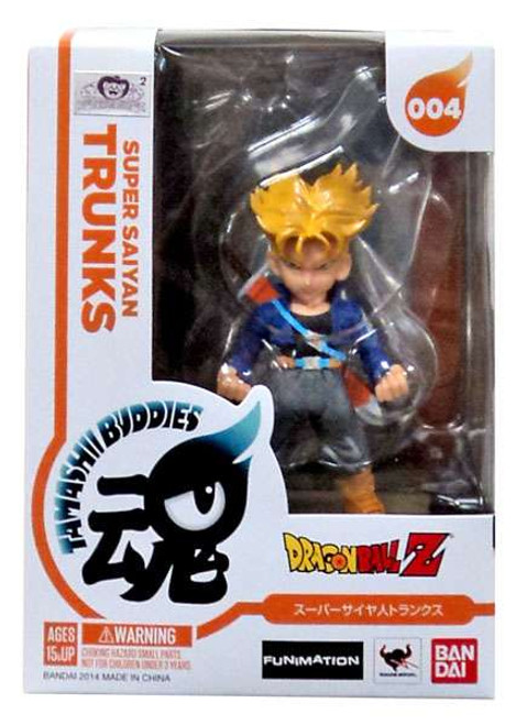 Dragon Ball Z Tamashii Buddies Super Saiyan Trunks Figure #004