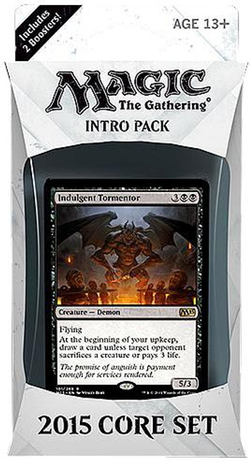 MtG Trading Card Game 2015 Core Set Infernal Intervention Intro Pack