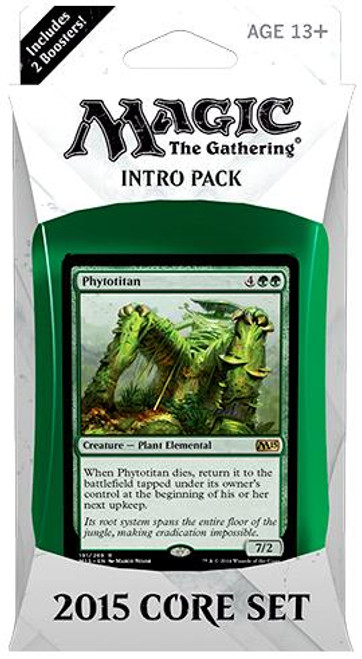 MtG Trading Card Game 2015 Core Set Will of the Masses Intro Pack