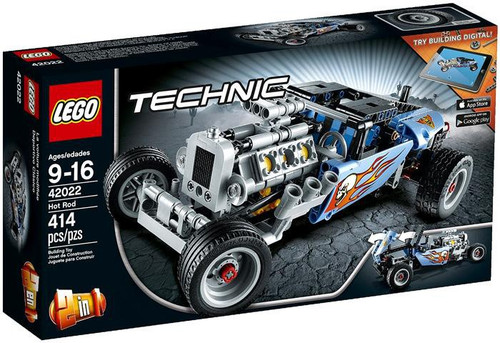 LEGO Technic Hot Rod Building Set #42022