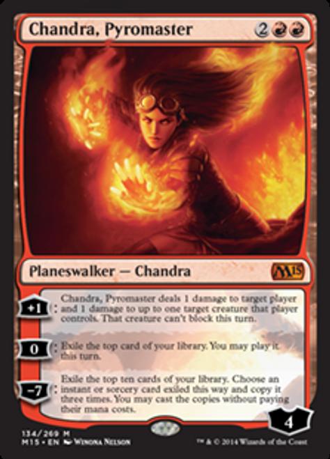 MtG 2015 Core Set Mythic Rare Chandra, Pyromaster #134