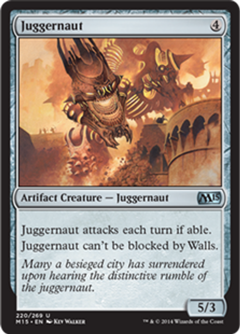 MtG 2015 Core Set Uncommon Juggernaut #220