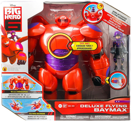Disney Big Hero 6 Deluxe Flying Baymax Action Figure