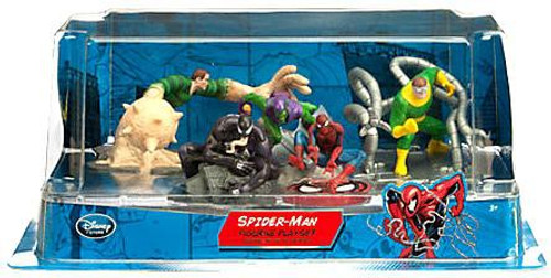 Disney Spider-Man Exclusive 5-Piece PVC Figurine Playset