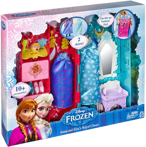 Disney Frozen Anna & Elsa's Royal Closet Playset