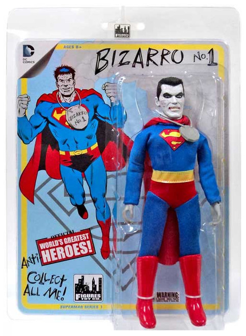 DC Superman World's Greatest Heroes! Series 1 Bizarro Action Figure