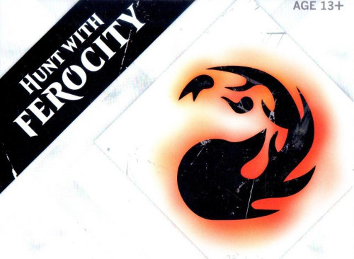 MtG Trading Card Game 2015 Core Set Hunt with Ferocity Pre-Release Kit [Red]