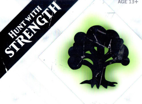 MtG Trading Card Game 2015 Core Set Hunt with Strength Pre-Release Kit [Green]