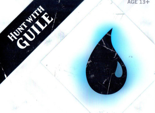 MtG Trading Card Game 2015 Core Set Hunt with Guile Pre-Release Kit [Blue]