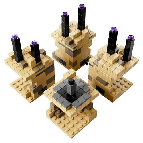 LEGO Minecraft Micro World The End Set [Loose]