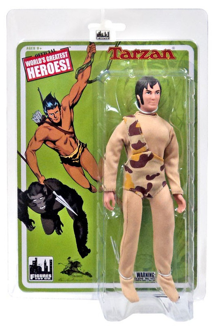 World's Greatest Heroes! Tarzan Action FIgure