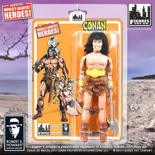 World's Greatest Heroes! Series 1 Conan The Barbarian Action FIgure