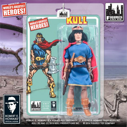 Conan the Barbarian World's Greatest Heroes! Series 1 Kull The Conqueror Action FIgure