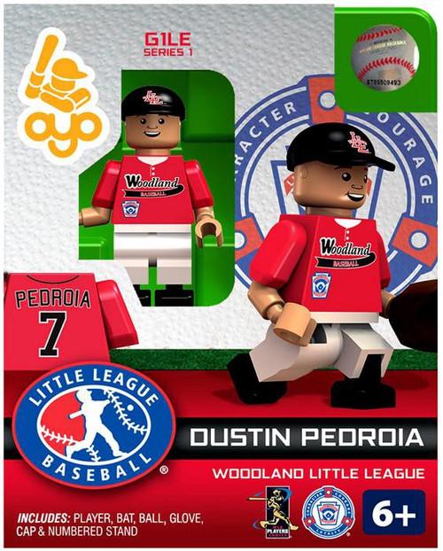 Boston Red Sox MLB Generation 1 Series 1 Dustin Pedroia Minifigure [Woodland Little League]