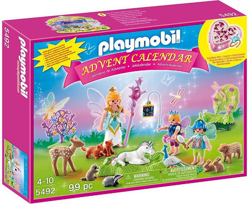 Playmobil Advent Calendar Unicorn Fairyland Set #5492
