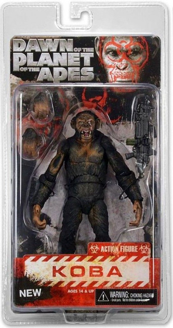 NECA Dawn of the Planet of the Apes Series 2 Koba Action Figure [Machine Gun]