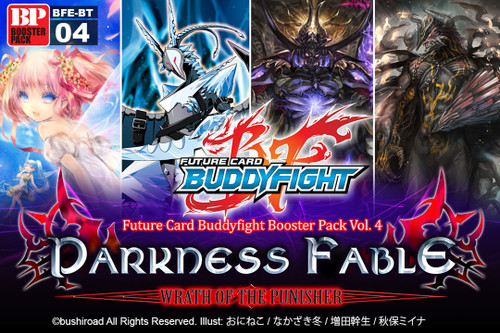 Future Card BuddyFight Trading Card Game Darkness Fable Booster Box BFE-BT04 [30 Packs]