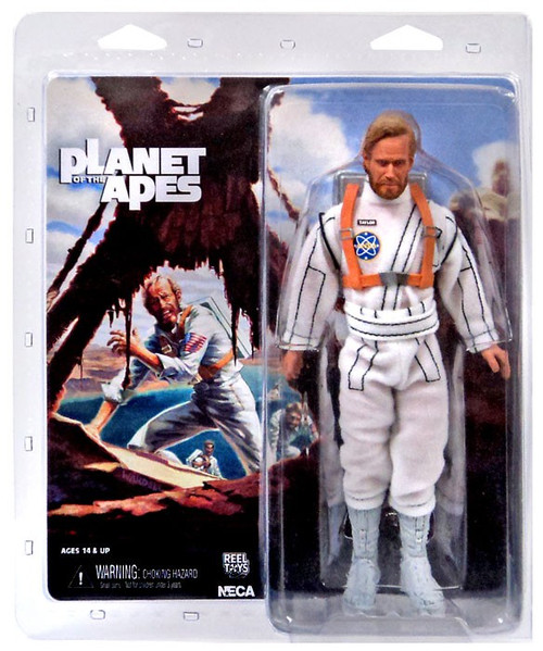 NECA Planet of the Apes Classic George Taylor Clothed Action Figure