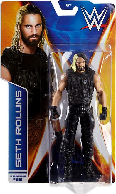 WWE Wrestling Series 44 Seth Rollins Action Figure #58