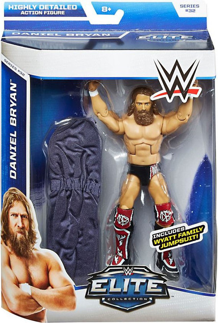 WWE Wrestling Elite Collection Series 32 Daniel Bryan Action Figure [Wyatt Family Jumpsuit]