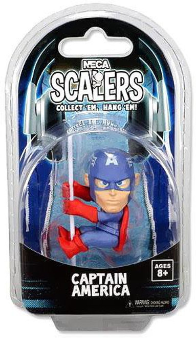 NECA Scalers Series 3 Captain America Mini Figure
