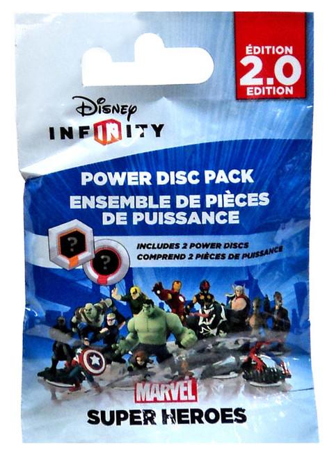 Disney Infinity 2.0 Edition Marvel Super Heroes Power Disc Pack [Super Heroes]