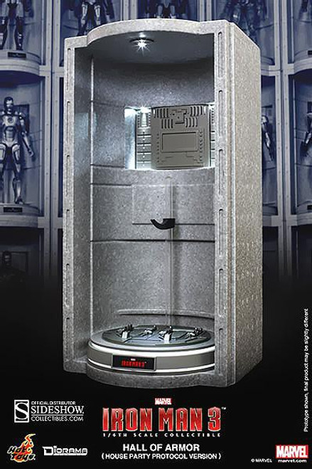 Iron Man 3 Diorama Series Hall of Armor Collectible [House Party Protocol]