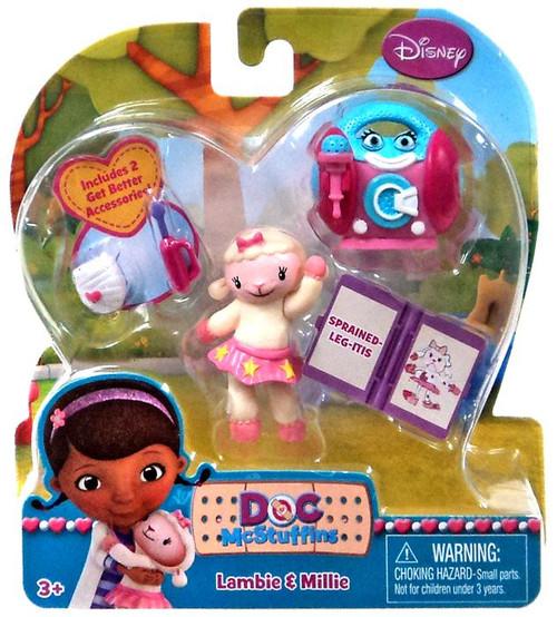 Disney Doc McStuffins Lambie & Millie Action Figure 2-Pack