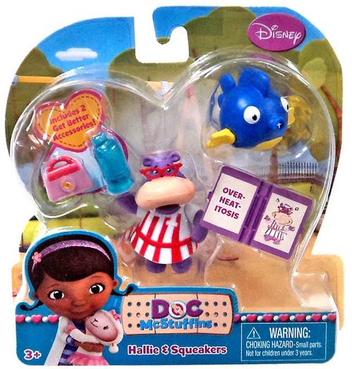Disney Doc McStuffins Hallie & Squeakers Action Figure 2-Pack