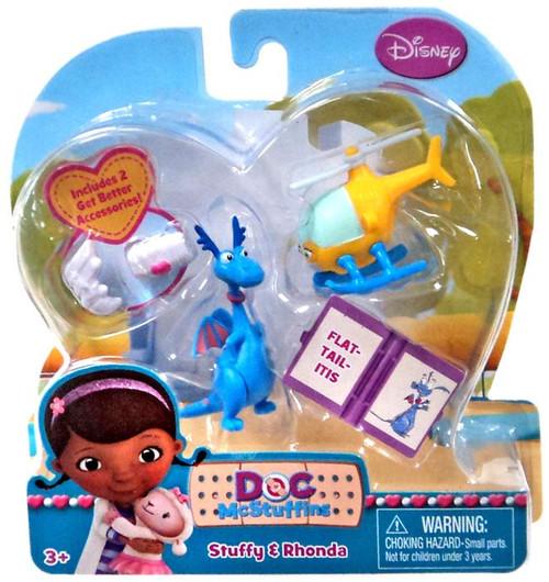 Disney Doc McStuffins Stuffy & Rhonda Action Figure 2-Pack