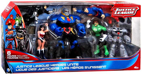 Justice League Heroes Unite Action Figure 6-Pack